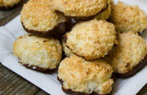 עוגיות קוקוס כשרות לפסח ללא גלוטן