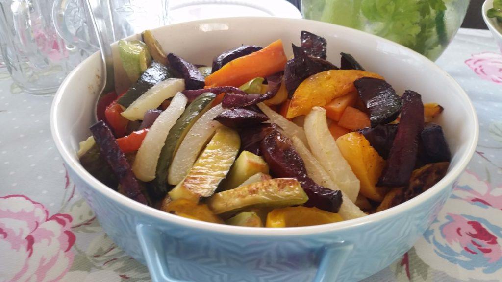 ירקות אפויים שחר תזונה בריאה