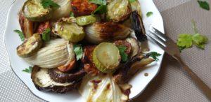 ירקות אפויים ובריאים שחר תזונה בריאה