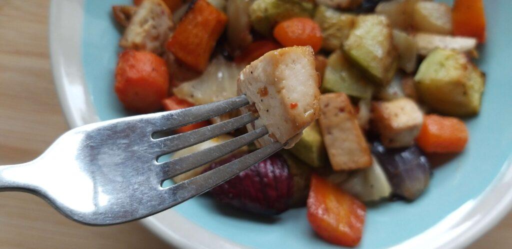 טופו וירקות אפויים שחר תזונה בריאה הרזיה בריאה